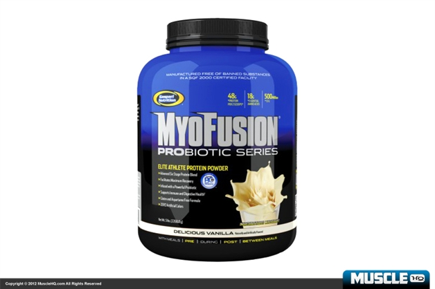 Gaspari Myofusion Probiotic Series Elite Athlete Protein Powder - 2lb Tub